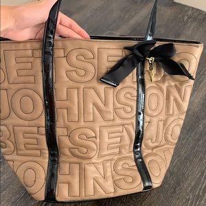 Betsey Johnson Bags - Betsey Jhonson Tan Tote